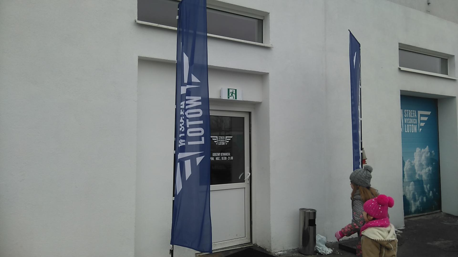 wejście do Strefy Wysokich Lotów w Lublinie