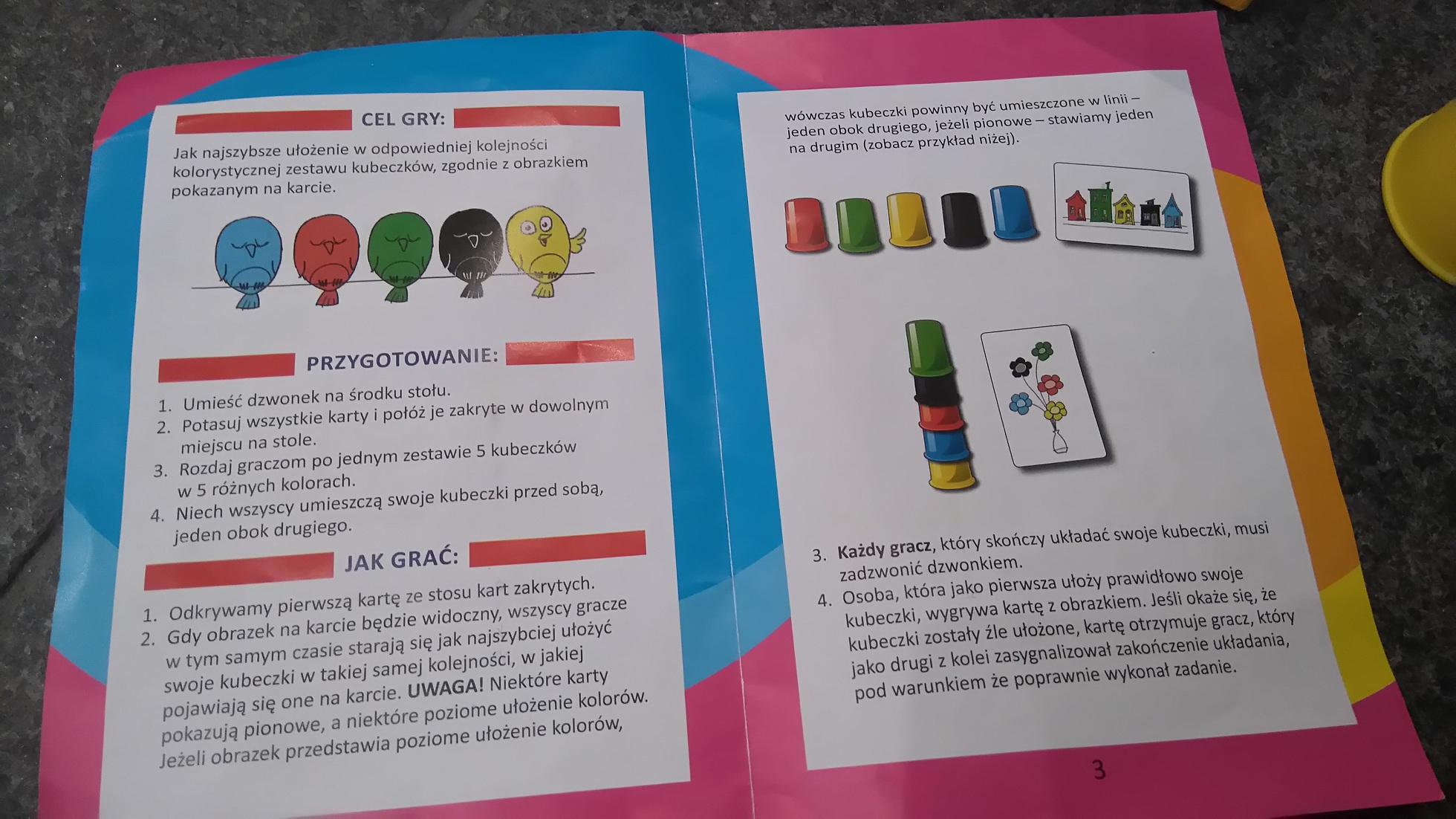 zasady gry w speed cups