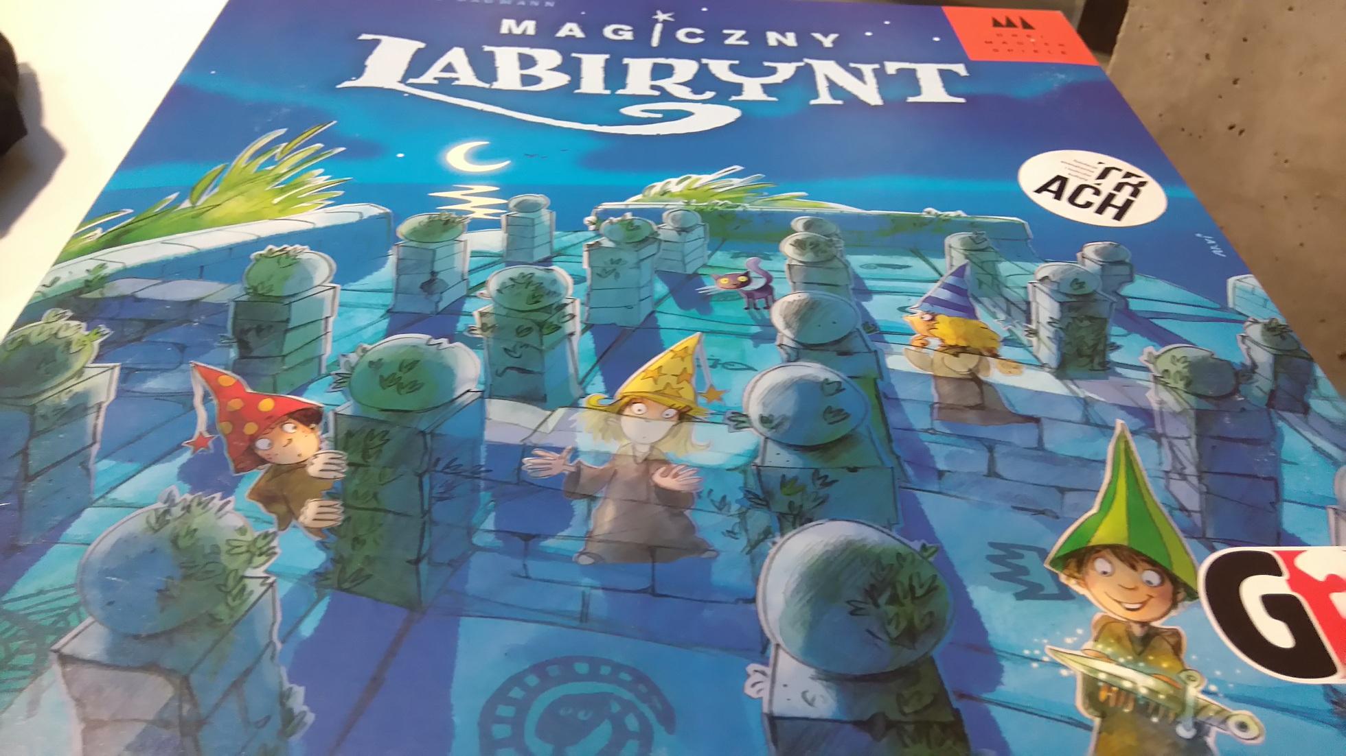 opakowanie gry Magiczny Labirynt