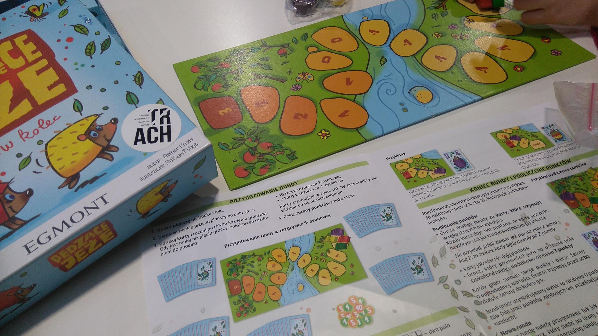 plansza i instrukcja do gry planszowej