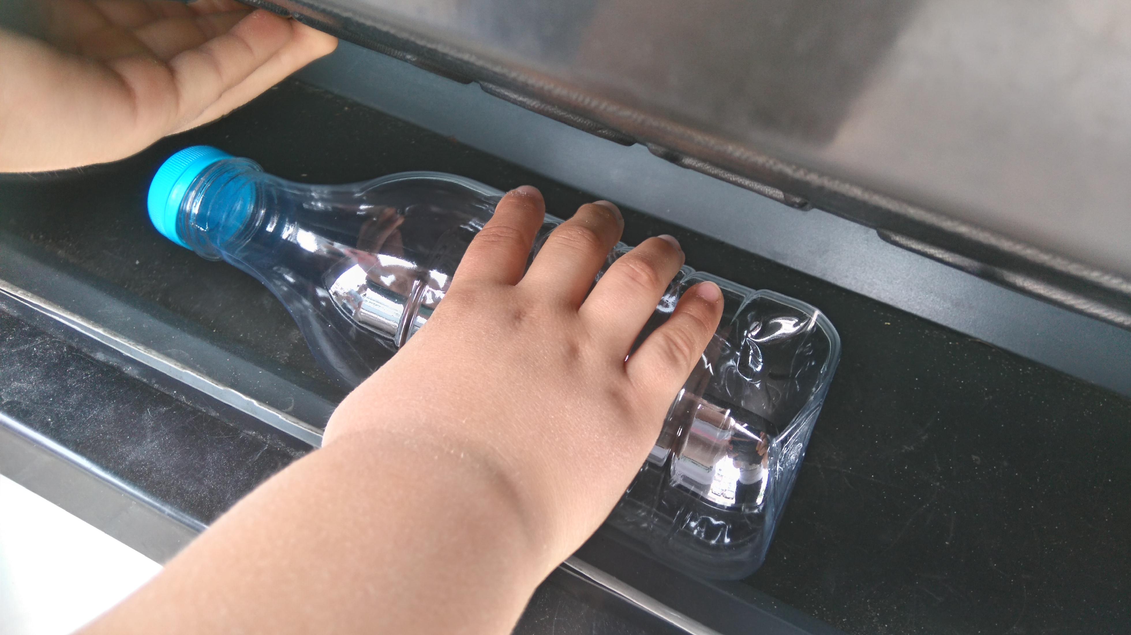 Plastikowa butelka na mleko